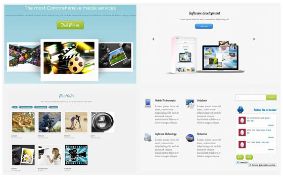 Liferay themes themeray for Liferay templates free